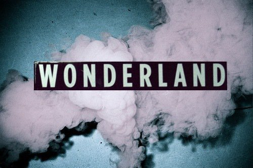 Damn, it's my Wonderland !