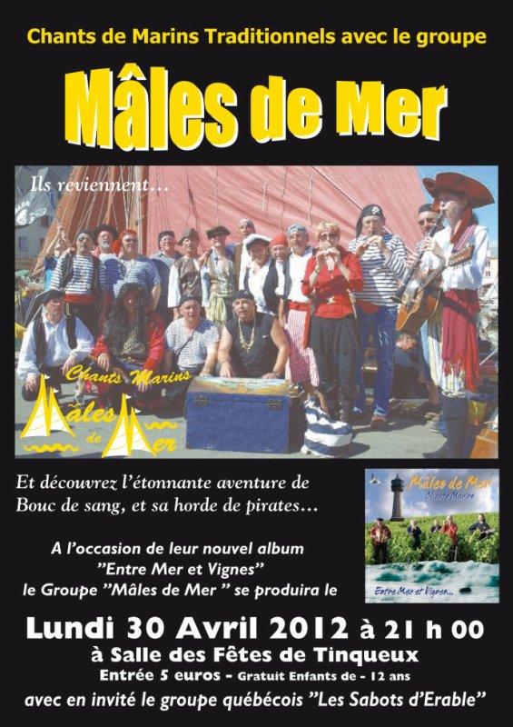 Mâles de Mer à Tinqueux - Grand Spectacle