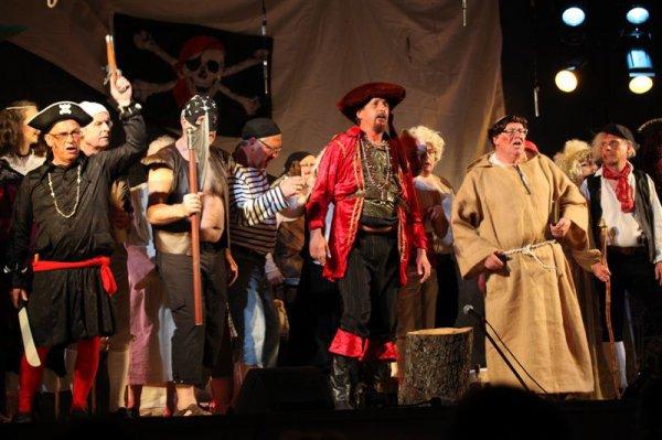 Bouc de Sang et sa horde de Pirates...
