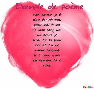 Un Poeme Pour Cousin Eric Blog De Lovedeluii
