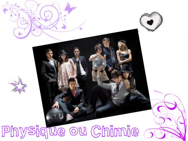 • Bienvenue sur le blog de la série Physique ou Chimie !! •