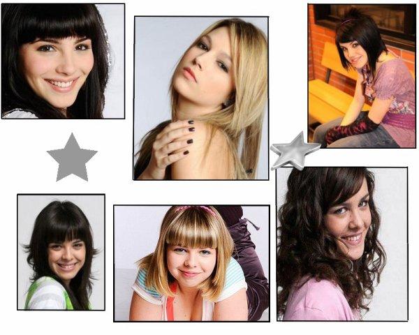 - Quelles filles élèves  de la série préférez vous ? -