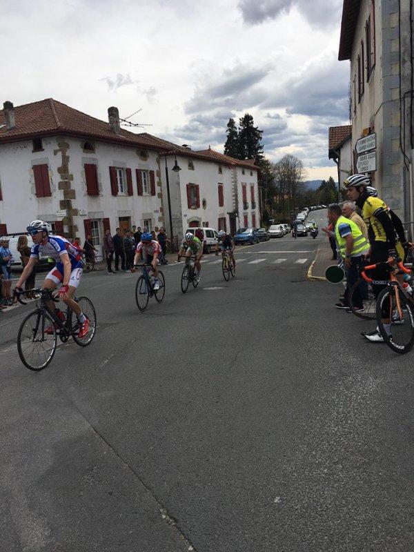 Ustaritz(64).Trophée Biltoki Juniors 86 km.Dimanche 3 avril 2016