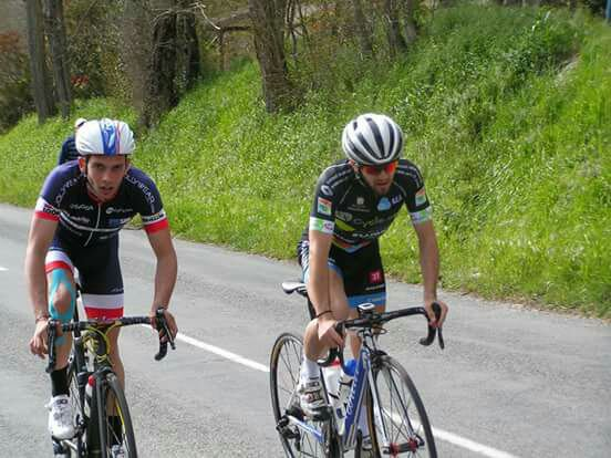 Mont de Marsan(40).28ème Primevére Montoise,Souvenir Janine SABATHIER 150 km.1,2,3,PCO.Dimanche 3 avril 2016