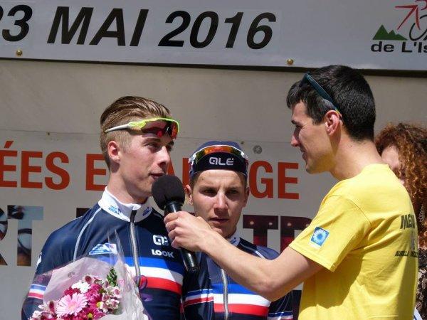 Trie-sur-Baïse(32).39° Ronde de l'Isard. 3° étape Trie-sur-Baïse-Boulogne-sur-Gesse.Samedi 21 mai 2016