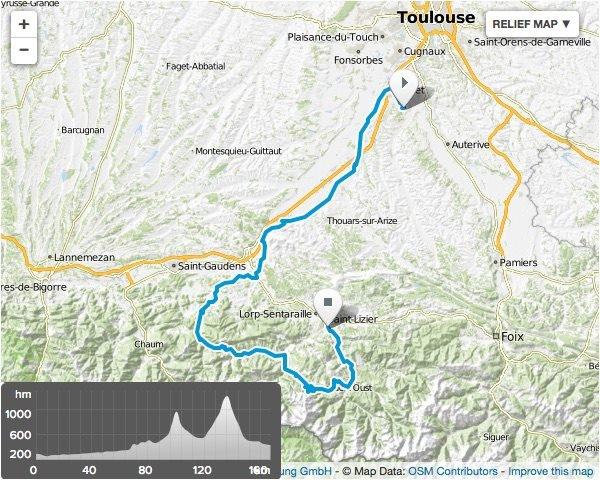 Saint-Girons (09).39° Ronde de l'Isard. 4° étape Eaunes-Saint-Girons 157,8 km.Dimanche 22 mai 2016