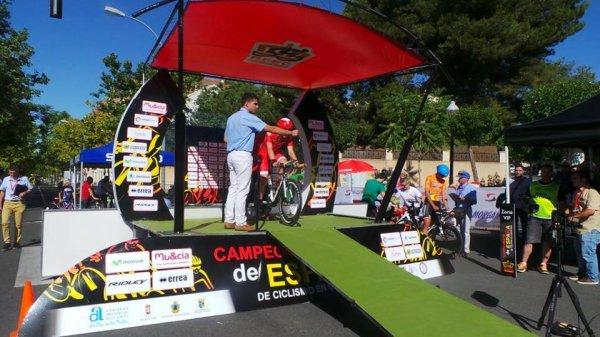 Alicante Ibi(Esp).Championnat D'Espagne Sub23 CLM Indi. 18,9 km.Jeudi 23 juin 2016