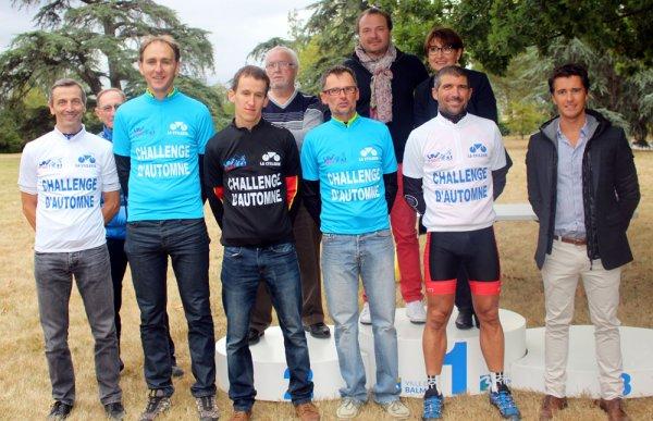 BALMA(31).Grand Prix cycliste de la ville de Balma.SOUVENIR JEAN MANSAS. 3° Manche du Challenge d'Automne.1 2 3 4 5 F C.FSGT.Dimanche 18 septembre 2016