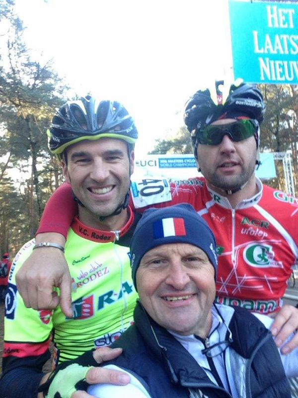 Mol(Belgique).Championnat du Monde Cyclo Cross Masters Hommes Day 1. Vendredi 2 décembre 2016