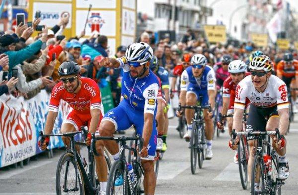 Lagos(Por).43° Volta ao Algarve UCI 2 H.C.1° étape Albuferia - Lagos 182,9 km.Mercredi 15 février 2017