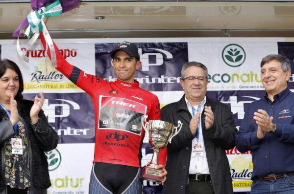 Torredonjimeno(Esp).Ruta del Sol UCI 2 HC. 2° étape Torredonjimeno-Alto Pena del Aguila 177.9 km.Jeudi 16 février 2017