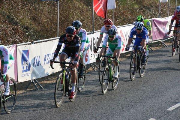 La Mothe-Achard(85).31° Circuit des Plages Vendéennes.Elites 1.12.1. 4°étape La Mothe-Achard-La Mothe-Achard 141.6 km.Jeudi 16 février 2017