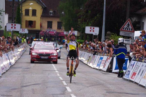 La Bridoire(73).23e édition de la Classique des Alpes Juniors UCI MJ 1.1. 3° Manche de la Coupe de France Juniors.Ruy-Montceau - La Bridoire 126,9 km. Samedi 3 juin 2017