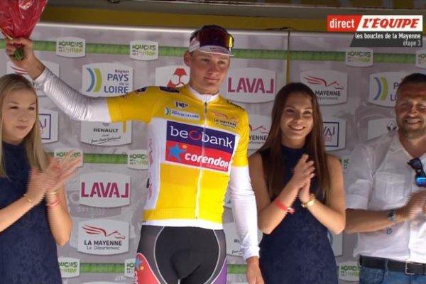Laval(53).Boucles de la Mayenne UCI 2.1. 2° étape Saint Cyr-le-Gravelais - Laval 180 km.Dimanche 4 juin 2017