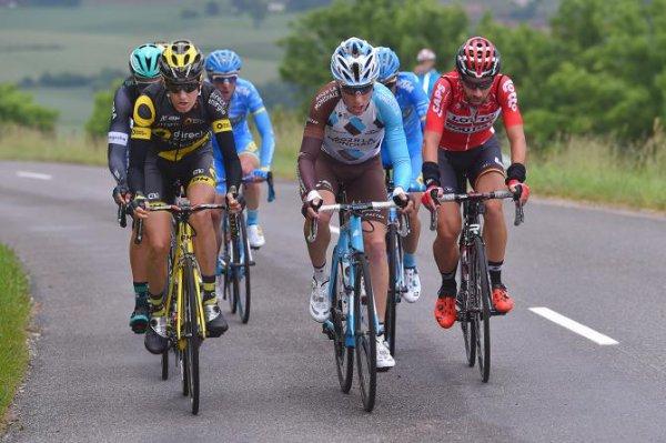 Saint-Étienne(42).69° édition Critérium du Dauphiné UCI 2.UWT. 1° étape  Saint-Étienne - Saint-Étienne 170 km.Dimanche 4 juin 2017