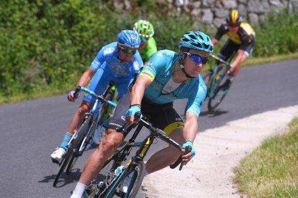 Arlanc (63).69° édition Critérium du Dauphiné UCI 2.UWT. 2° étape Saint-Chamond - Arlanc 171 km.Lundi 5 juin 2017