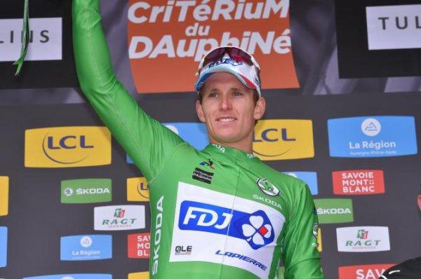 Tullins(38).69° édition Critérium du Dauphiné UCI 2.UWT. 3° étape Le Chambon-sur-Lignon - Tullins 184 km.Mardi 6 juin 2017