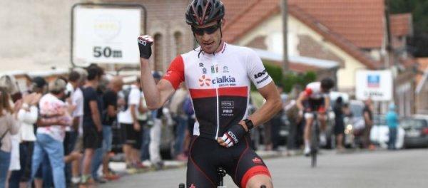 Villequier-Aumont(02).Championnat interrégional Hauts-de-France et Ile-de-France 160.5 km.Mercredi 7 juin 2017