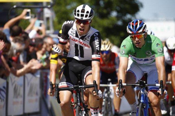 Mâcon(71).69° édition Critérium du Dauphiné UCI 2.UWT. 5° étape La Tour-de-Salvagny - Mâcon 175 km.Jeudi 8 juin 2017