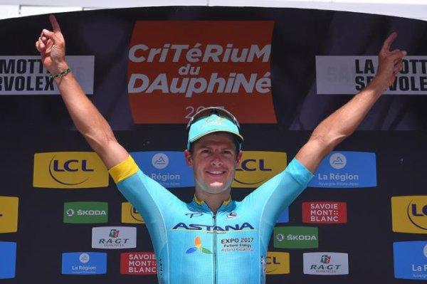 La Motte-Servolex(73).69° édition Critérium du Dauphiné UCI 2.UWT. 6° étape Parc des Oiseaux - Villars-les-Dombes - La Motte-Servolex 145.5 km.Vendredi 9 juin 2017