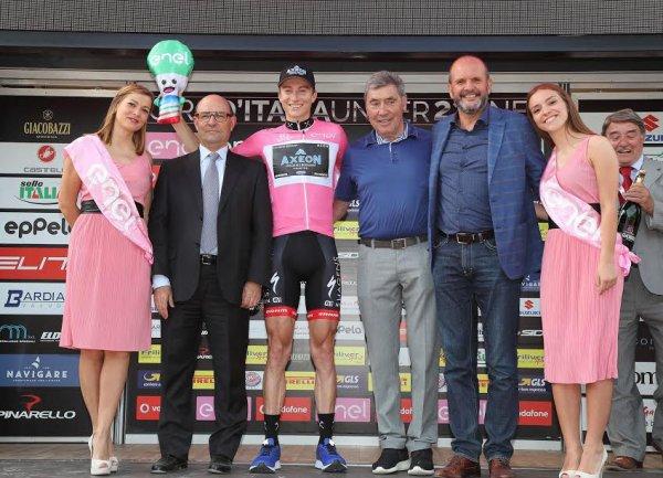 Castellarano(Italie).Baby Giro d'Italia UCI 2.2U.2° étape San Valentino di Castellarano - Castellarano 145.8 km. Samedi 10 juin 2017