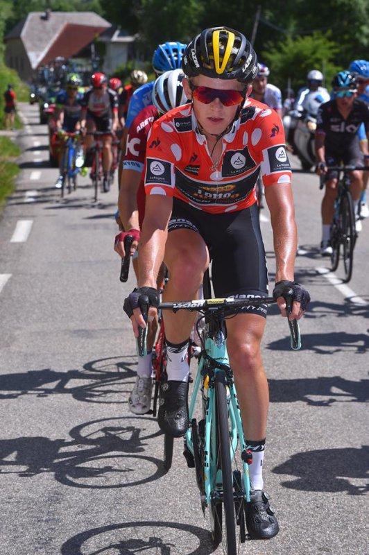 Alpe d'Huez(73).69° édition Critérium du Dauphiné UCI 2.UWT. 7° étape Aoste - Alpe d'Huez 168 km.Samedi 10 juin 2017
