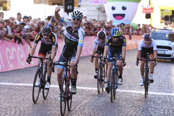 FORLI(Italie).Baby Giro d'Italia UCI 2.2U.3° étape Bagnara di Romagna - Forli 140 km. Dimanche 11 juin 2017