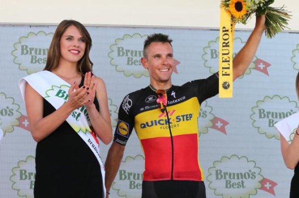 Cham(Suisse).81° Tour de Suisse UCI 2.UWT.2° étape Cham - Cham 172.7 km.Dimanche 11 juin 2017