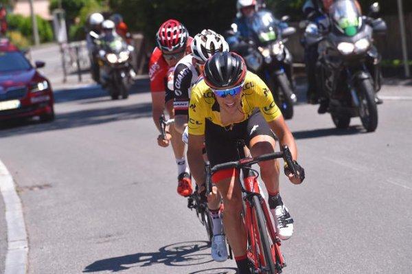 Plateau de Solaison(73).69° édition Critérium du Dauphiné UCI 2.UWT. 7° étape Albertville - Plateau de Solaison 115 km.Dimanche 11 juin 2017