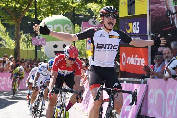 Gabicce Mare(Italie).Baby Giro d'Italia UCI 2.2U.4° étape Gabicce Mare - Gabicce Mare 155.5 km. Lundi 12 juin 2017