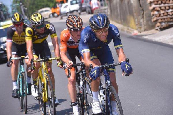 Villars-sur-Ollon(Suisse).81° Tour de Suisse UCI 2.UWT.4° étape Bern - Villars-sur-Ollon  143.2 km. Mardi 13 juin 2017
