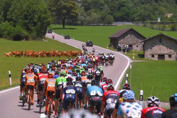 La Punt(Suisse).81° Tour de Suisse UCI 2.UWT.5° étape Locarno - La Punt 166.7 km. Jeudi 15 juin 2017