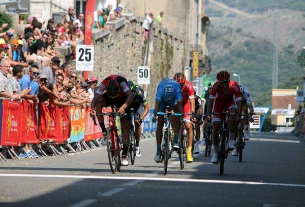 Saint-Pons-de-Thomières(34).40° édition de la Route du Sud UCI 2.1.1° étape Villeveyrac - Saint-Pons-de-Thomières 176.6 km.Jeudi 15 juin 2017