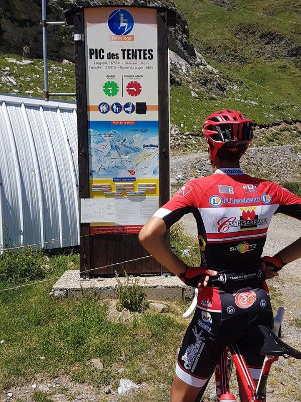 Gavarnie(65).Route du Sud La Dépêche du Midi Cadets. Gèdre - Gavarnie 13km.Samedi 17 juin 2017