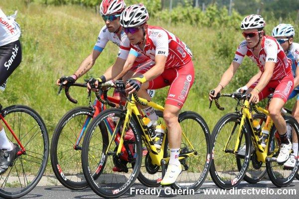 Saint-Michel-de-Maurienne (74).Tour de Savoie Mont-Blanc UCI 2.2.3° étape Magland - Saint-Michel-de-Maurienne 132 km. Samedi 17 juin 2017
