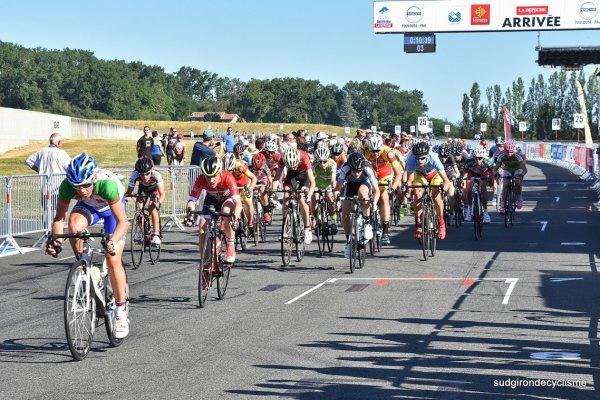 Nogaro (32).Circuit automobile.Trophée Luis Navarro.Route du Sud/ La Dépêche du Midi  Minimes 28 km. Dimanche 18 juin 2017