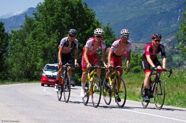 Moûtiers(73).Tour de Savoie Mont-Blanc UCI 2.2. 5° étape Moûtiers - Moûtiers 99.1 km. Dimanche 18 Juin 2017