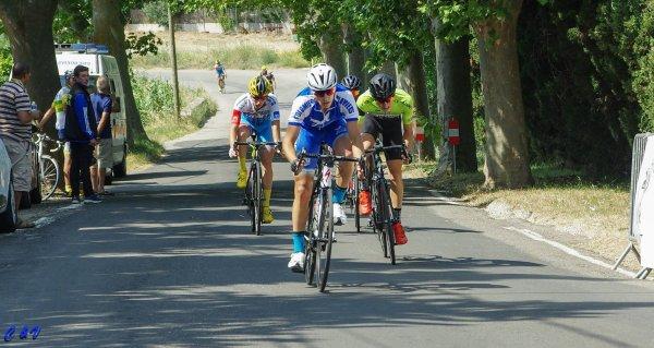 Boutenac(11).28° Tour des Corbiéres 102 km. 2.3.J.PCO. Dimanche 25 juin 2017