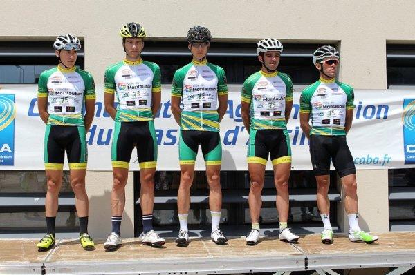 Arpajon-sur-Cère(15).12e Tour Cycliste de la CABA.2° étape Arpajon-sur-Cère - Arpajon-sur-Cère CLM par équipes 14,4 km.1.2.3.J.Dimanche 25 Juin 2017