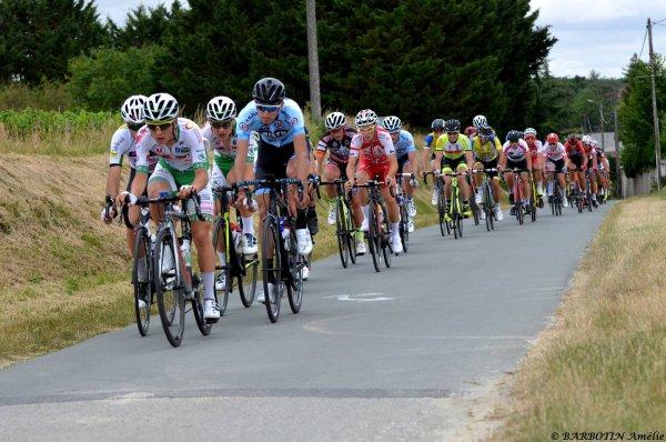 Marigny-Brizay(86.13° édition du Circuit des Vignes (Elite Nationale 1.12.1.Marigny-Brizay - Marigny-Brizay 135 km. Dimanche 25 juin 2017