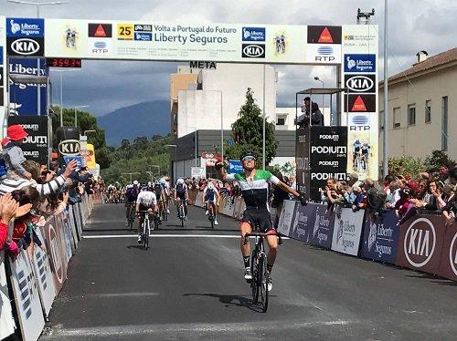 Oliveira de Azeméis(Port).25°.Volta a Portugal do Futuro UCI 2.2U.1° étape Oliveira de Azeméis - Oliveira do Hospital   146.1 km.Jeudi 29 juin 2017