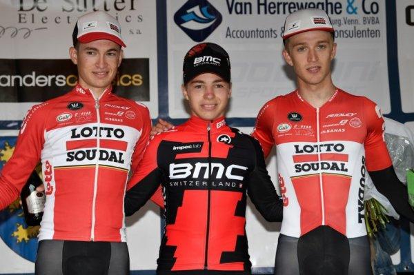 Zottegem(Bel).Omloop Het Nieuwsblad Beloften/Circuit Het Nieuwsblad Espoirs UCI 1.2.Zottegem - Zottegem 175.9 km. Samedi 1 juillet 2017