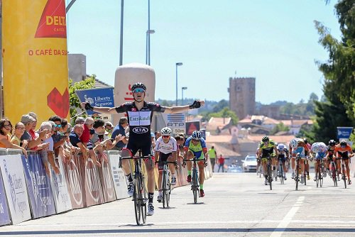 Sabugal(Port).25° Volta a Portugal do Futuro UCI 2.2U.3° étape Tondela - Sabugal 150,6 km. Samedi 01 Juillet 2017