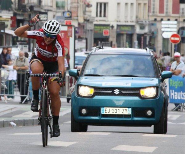 Douai(59).Critérium de Gayant.Dames FFC Elites/Nat/Reg/Jun epreuve en ligne (cal reg) - Régional - F.Dimanche 2 juillet 2017