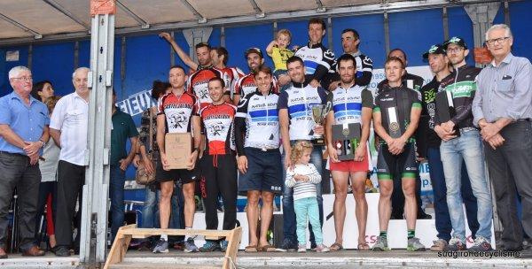 Pindéres(47).15° Tour des Coteaux et Landes de Gascogne UFOLEP.3° étape Pindéres-Pindéres CLM Indi. 9.8 km.  Dimanche 2 juillet 2017