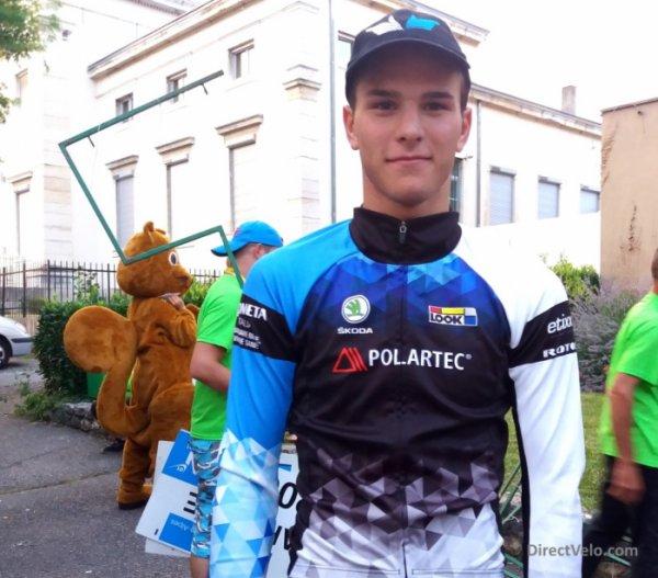 Belley(01).Ain Bugey Valromey Tour Juniors UCI MJ 2.1).Prologue Belley - Belley 2 km. Mardi 11 juillet 2017