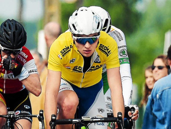 Culoz(01).Ain Bugey Valromey Tour Juniors UCI MJ 2.1).1° étape Belley - Culoz 96.2 km. Mercredi 12 juillet 2017