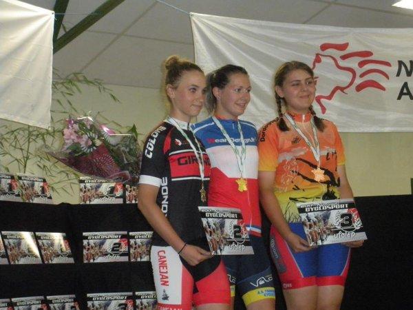 Saint Sulpice le Guérétois(23). Championnat National Cyclosport UFOLEP Route 2017.13/14 ans,15/16 ans.Vendredi 14 juillet 2017