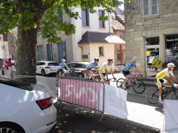 Creys-Maleville(01).Ain Bugey Valromey Tour Juniors UCI MJ 2.1).4° étape Vonnas - Creys-Maleville 108.2 km. Samedi 15 juillet 2017