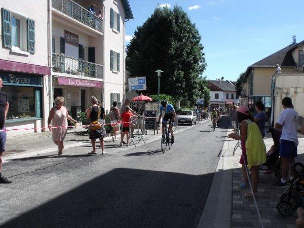 Hauteville-Lompnes(01).Ain Bugey Valromey Tour Juniors UCI MJ 2.1.5° étape Artemare - Hauteville-Lompnes 106.5 km. Dimanche 16 Juillet 2017